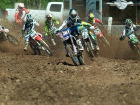 Davey Fraser _36_ got the holeshot in the second MX 2 moto [1024x768]