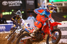 McElrath's 450SX Debut Nearly Garners a Top-10 Finish