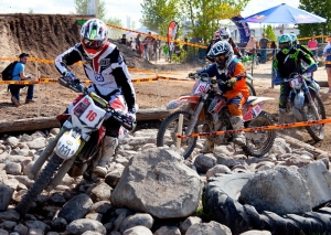 Husqvarna's Graffunder Dominates Red Bull Rocks & Logs
