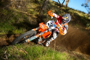 KTM's Mike Brown Wins AMA EnduroCross Season Opener
