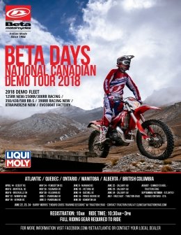 Beta Demo Tour Dates Released