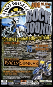Rally Connex Rock Hound Rally Update presented by Two Wheel Motorsport.