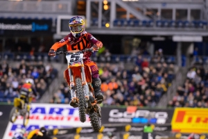 PODIUM THIRD FOR DUNGEY AT SEATTLE SUPERCROSS