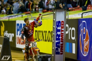 Dungey takes KTM's second SX victory for the season