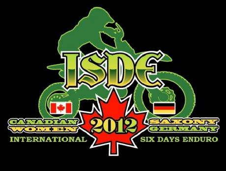 The 2012 ISDE Women's Cup Team Canada Logo