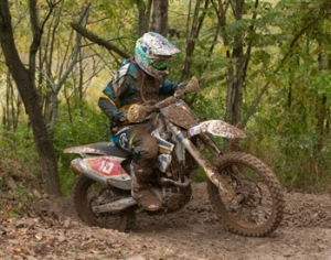 HUSQVARNA'S ANDREW DELONG 3RD AT MOUNTAIN RIDGE GNCC