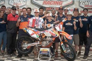 VP RACING FUELS CONGRATULATES KAILUB RUSSELL ON GNCC CHAMPIONSHIP