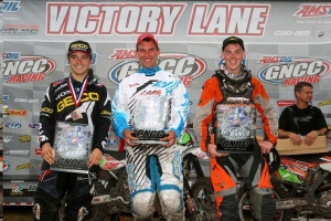 Husqvarna's DeLong Opens GNCC Season With A Big Win