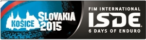 ISDE heads to Slovakia in 2015