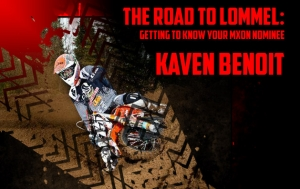 Road to Lommel Meet the Nominees Kaven Benoit