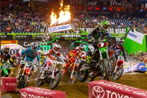 Monster Energy Kawasaki's Ryan Villopoto Takes Command in Houston