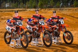 THE KTM RED BULL THOR RACING TEAM ANNOUNCES NEW 2018 RIDER LINE-UP