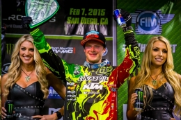 Shane McElrath Makes First Trip To The Podium in San Diego