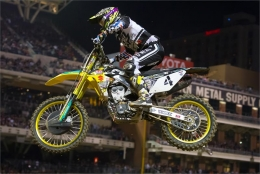 BAGGETT FIGHTS BACK TO 7TH AT SAN DIEGO SX