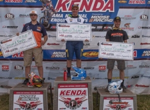 Win For Factory Husqvarna's Andrew DeLong at Colorado National Enduro!