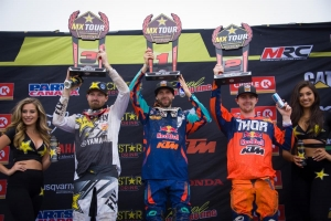 BENOIT & THOMPSON DOMINATE THE 450 CLASS