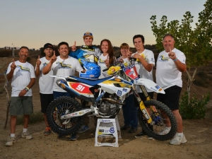 FACTORY HUSQVARNA'S JACOB ARGUBRIGHT AMA WEST HARE CHAMPION