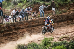 NEWCOMER MEO FASTEST RED BULL KTM FACTORY RIDER IN DAKAR STAGE 3