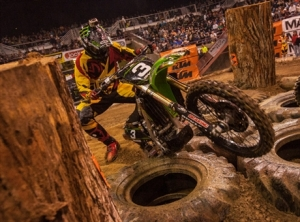 Monster Energy Kawasaki's Justin Soulé Nears the Podium at Boise EnduroCross