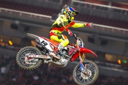 Top-Five Finish for Seely at Inaugural Santa Clara Supercross