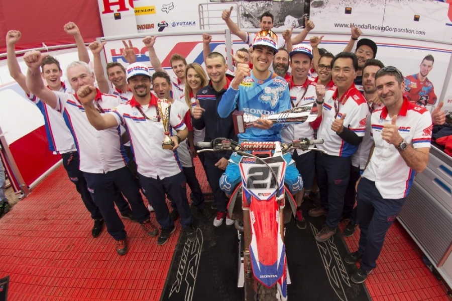 Paulin dominates with double win and his first Team HRC overall victory at Valkenswaard