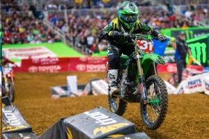 Monster Energy/Pro Circuit/Kawasaki's Martin Davalos Wins St. Louis to Extend his Points Lead