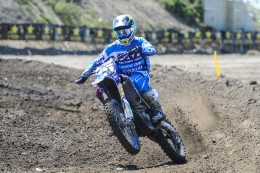 Jess Pettis won both of the Pro 250 Motos to take the overall win in the class