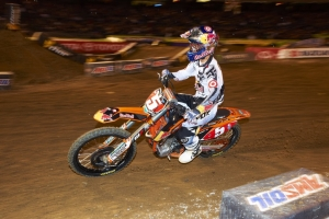 Dungey 4th but Maintains Red Plate