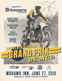 Lawrence Hacking Launches an All-new Event: The Grand Prix de Mud