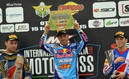 CAIROLI IS MX1 AND ELITE CHAMPION AT INTERNAZIONALE D'ITALIA