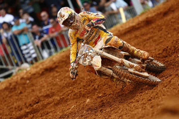 STRONG PERFORMANCES FROM HUSQVARNA MOTORCYCLES MXGP AND MX2 FACTORY RIDERS AT A CHALLENGING GP OF BRAZIL