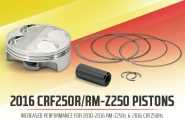 New Product: Pro Circuit 2016 CRF250R and RM-Z250 Pistons