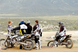 Training Day With The Rockstar Husqvarna Factory Team
