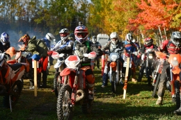 Photo Report: Off-Road Riders in New Brunswick Raise Funds for Breast Cancer Research
