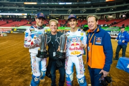 DUNGEY AND MUSQUIN TOP SUPERCROSS PODIUMS AT ATLANTA2