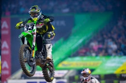 Discount Tire/TwoTwo Motorsports Kawasaki's Josh Grant Breaks Into the Top 5 in Houston