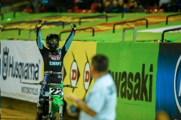 Chad Reed Races his Kawasaki to the Top of the Podium in Atlanta