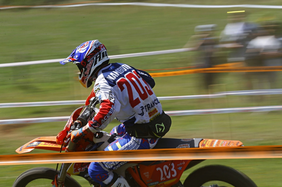 ISDE Day One - France Takes The Lead As USA Hits Trouble