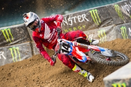 Seely Scores Podium Finish at AMA Supercross Opener