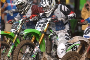 Monster Energy Kawasaki Team Green Solidifies Their Spot on the Podium as Second Motos Commence