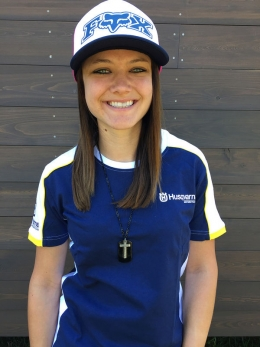 Ashley Fiolek is a retired Pro Motocross Women's champion and is happy to officially join the Husqvarna Motorcycles Brand Ambassador program.