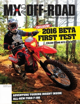 MX And Off-Road Volume 14 Issue 03