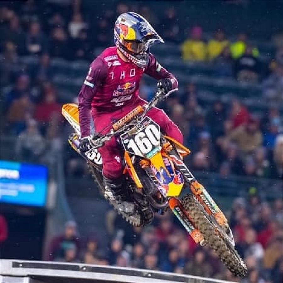 KTM RED BULL THOR FACTORY RACER JESS PETTIS STARTS 2019 WITH AN INCREDIBLE PERFOMANCE AT A1
