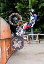 Franz Kadlec is the new European Trial Champion