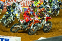 DUNGEY AND MUSQUIN TAKE A PAIR OF SECONDS AT ATLANTA 1 SUPERCROSS