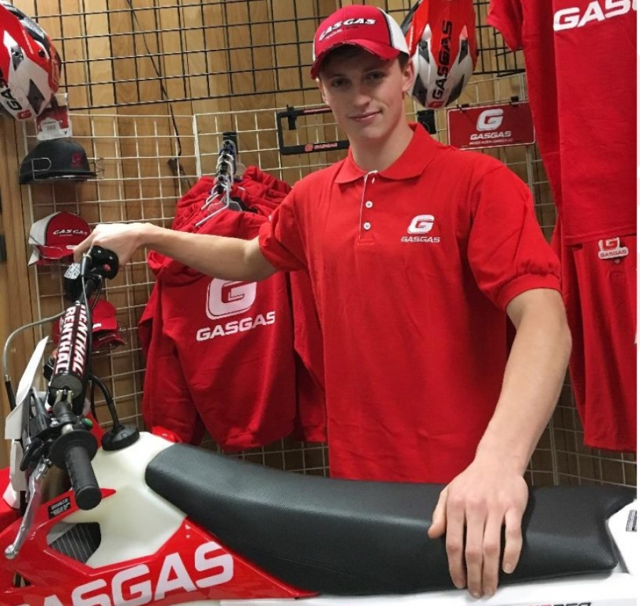 Torrot GasGas NA Inc Signs Thorn Devlin for the 2018 Racing Season