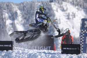 ROCKSTAR ENERGY HUSQVARNA FACTORY RACING'S COLTON HAAKER EARNS THE SILVER MEDAL AT THE 2017 WINTER X-GAMES IN ASPEN