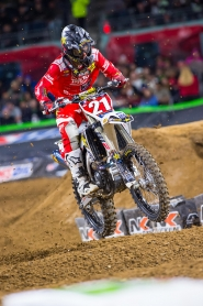 ROCKSTAR ENERGY/ HUSQVARNA FACTORY RACING'S JASON ANDERSON FINISHES 5TH AT SAN DIEGO  SX