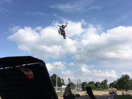 Jordan Szoke's High-Adrenaline Freestyle Motocross Extreme Show Included in Admission