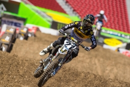 JASON ANDERSON FINISHES 4TH IN SANTA CLARA FOR ROCKSTAR ENERGY HUSQVARNA FACTORY RACING